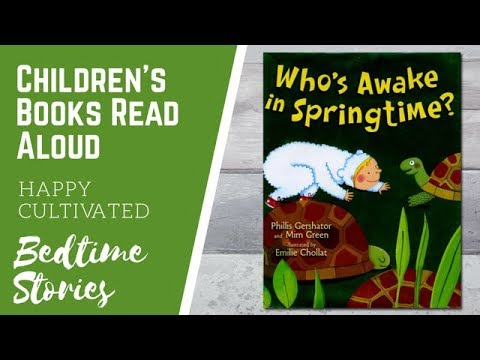 WHO'S AWAKE IN SPRINGTIME Book | Spring Books for Preschoolers | Kids Books  Online | Bedtime Story