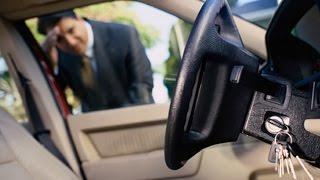 Что делать если закрылась машина!