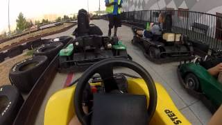 St. Louis Mills Mall riding Go Karts at nascar speed park with GoPro HERO 2