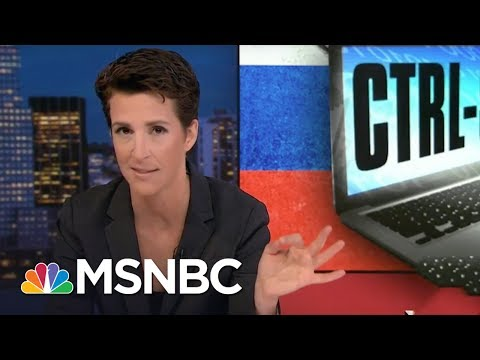 US Officials Still Assessing Russia 2016 Hack | Rachel Maddow | MSNBC