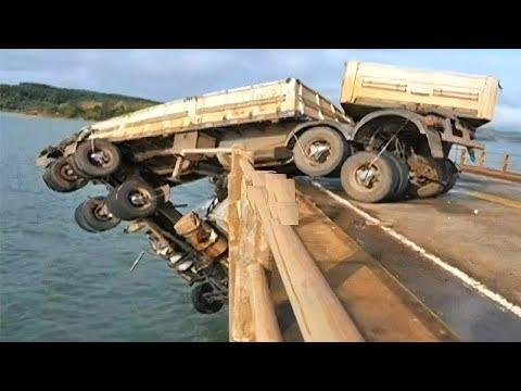 Top 10 Unbelievable Crazy Driving Truck Skills ! Heavy Equipment Operator Gone Bad Compilation