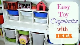 How To Organize Playroom Toys With Ikea