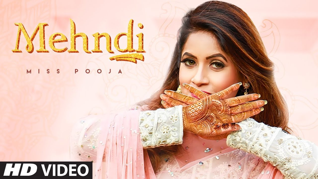 Mehndi (Full Song) Miss Pooja | Dj Ksr | Yaad | Latest Punjabi Songs 2020