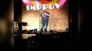 At the Improv Doing my thing!!!