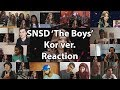 "Girls' Generation 소녀시대 'The Boys' MV (KOR Ver.) ""Reaction Mashup"""