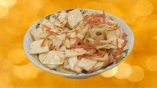 Салат на Новый Год 🎄 Капуста и морковь по корейски