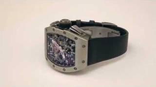 Richard Mille Felipe Massa Titanium Skeleton Watch