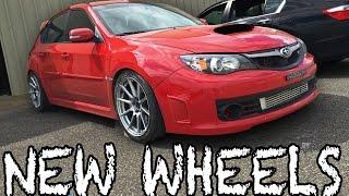New Enkei Wheels for my WRX STi