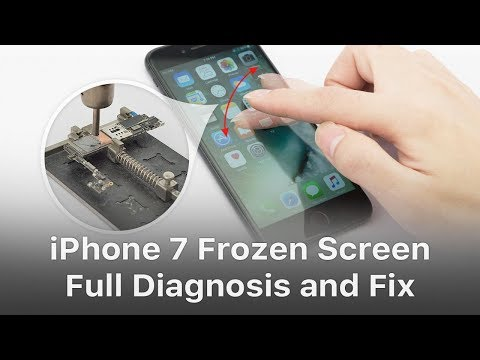 How to use screenshot on iphone 7 plus screen freezes