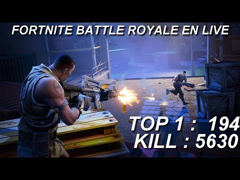 [FR/PC/LIVE] Fortnite  en solo 194 wins!