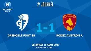 Grenoble vs Rodez full match