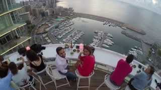 Amazing Proposal By Drone  - Beirut