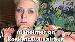 Millaisia tunteita herättää Alzheimer