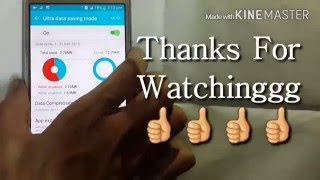 How to use Ultra Data Saving Mode in Samsung Galaxy J2 J5 J7