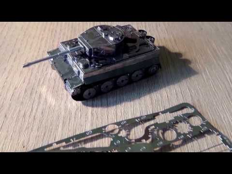 3d steel model Tiger I