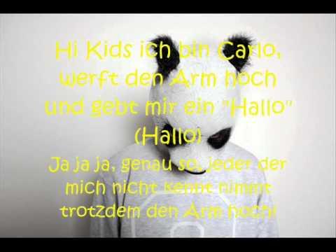 Cro - Hi Kids ich bin Carlo Lyrics on Screen + in Description