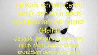 Cro - Hi Kids ich bin Carlo Lyrics on Screen + in Description