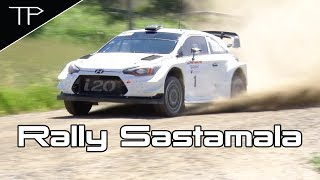 Thierry Neuville preparing for WRC Rally Finland 2017