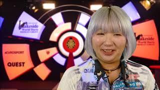 Mikuru Suzuki REACTS to BDO Women's World Championship victory over Lorraine Winstanley