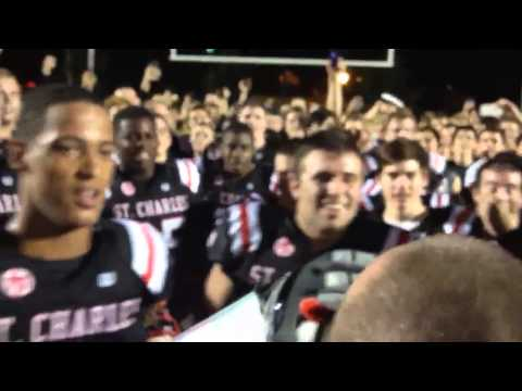 St Charles Prep, Columbus, Ohio Varsity Football and the Hilshire Farms Commercial chant.