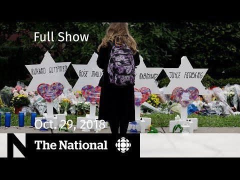 The National for October 29, 2018 — Pittsburgh Mourning, Family Reunion, Costume Controversy