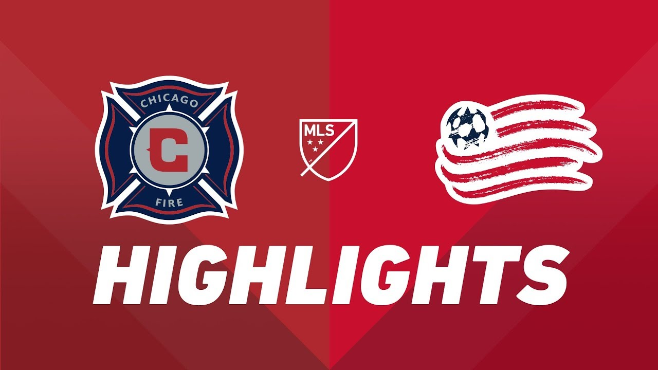 725f17b44 Chicago Fire vs. New England Revolution | HIGHLIGHTS - May 8, 2019 ...