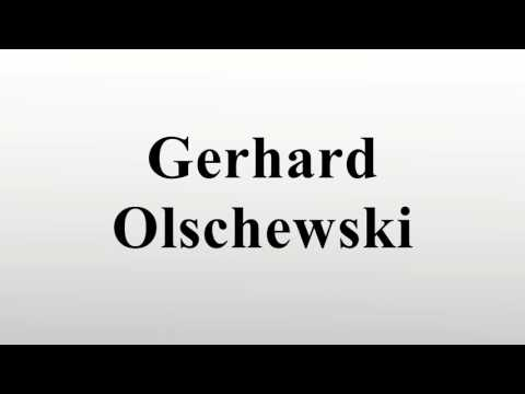 Gerhard Olschewski