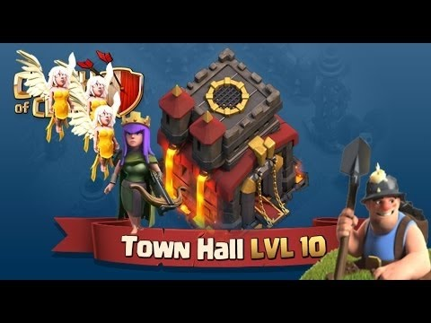 Queen Walk 3 Star Strategy With miner and bowler Th 10