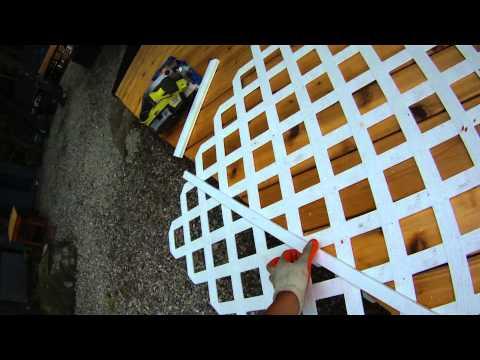 Lattice Under Deck