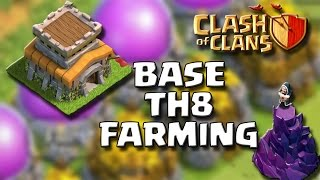 MUNICIPIO LV.8 [4 MORTAI] FARMING- Clash Of Clans [ITA]