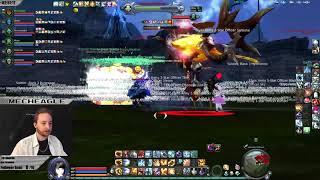 MechEagle - First Lakrum Siege Elyos Danaria Server - Aion 6.2 -