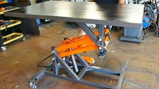 Making Hydraulic Lift Table