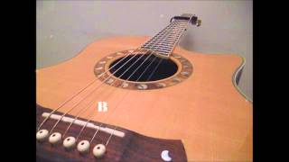 Tuning Video. Standard Guitar Tuning with Capo on 4th fret (G#, C#, F#, B, D#, G#)