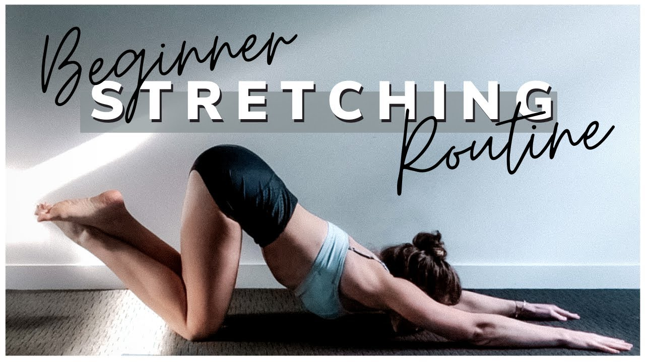 25 Minute Beginner Stretching Routine - Full Body Flexibility