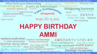 Ammi   Languages Idiomas - Happy Birthday