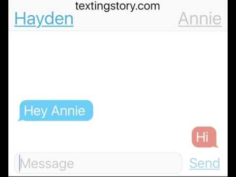 Annie and Hayden are dating 🌺😛😘