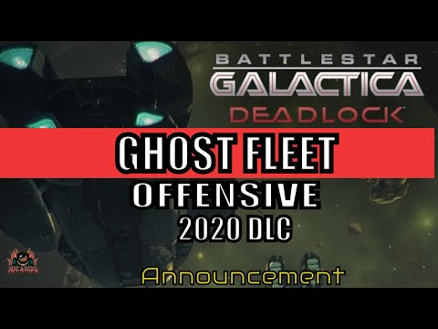 Ghost Fleet Offensive Battlestar Galactica Deadlock Season 2 Announcement