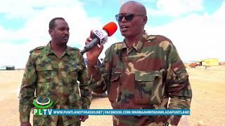 Taliska Guud ee Ciidanka Daraawiista Dawladda Puntland ayaa in ka badan 300 oo askari u diray Deegaa