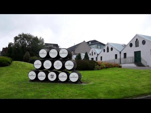 The Glenlivet distillery in Speyside, Scotland