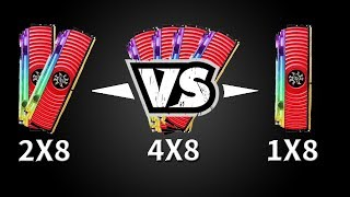 Qual Quantidade de Memoria Usar no PC? 8GB vs 16GB vs 32GB - Teste em jogos!