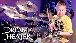 """Panic Attack, Dream Theater"" Avery Molek, 8 year old Drummer"
