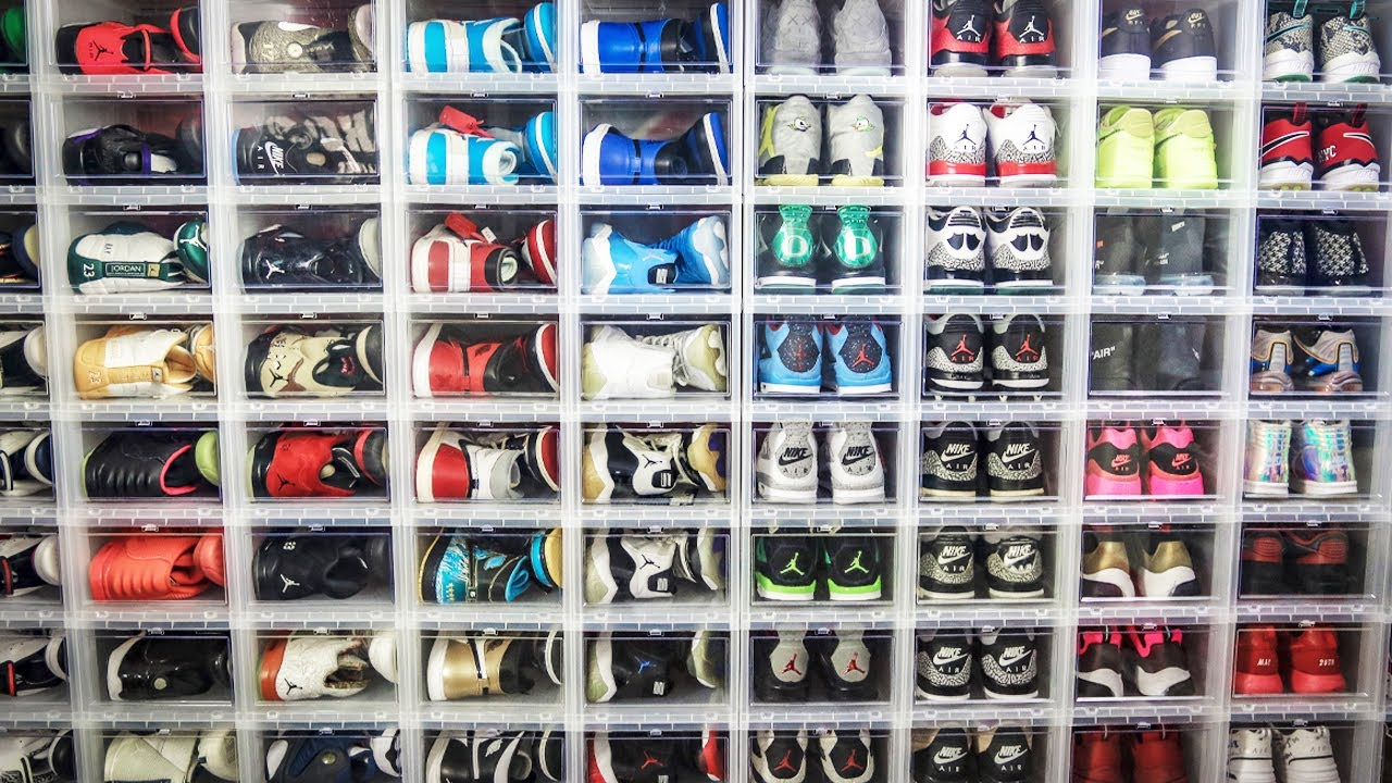 Shoe Box For Sneaker Collection
