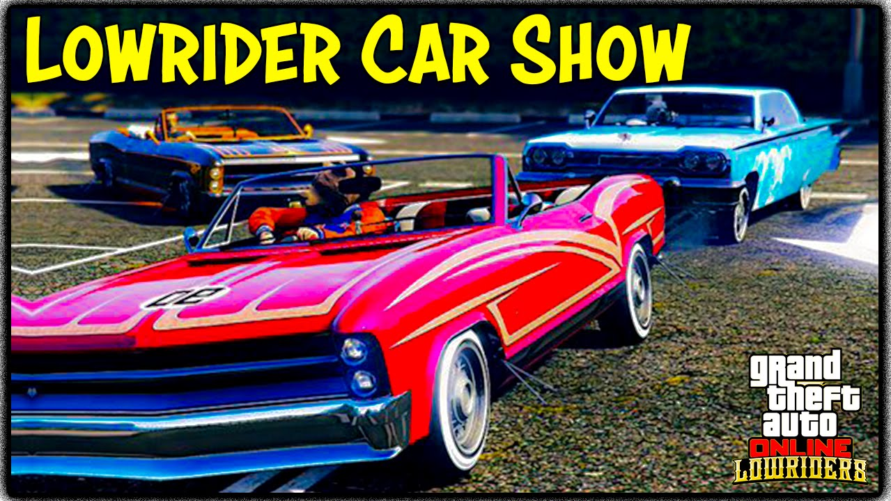 Gta 5 online new lowrider dlc car show best customization gta v