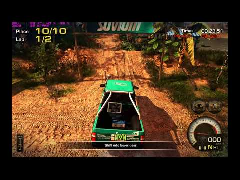 [Gameplay - #002] - Off-Road Drive - 4x2 vs 4x4 - Nvidia GeForce Palit GTX 580