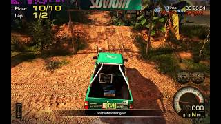 ▓ Gameplay #2 » Off-Road Drive | Comparative Test » 4x2 vs 4x4 | Nvidia GeForce Palit GTX 580 ▓