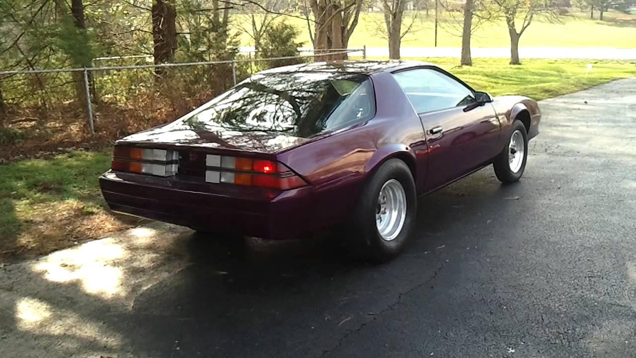 Camaro Vs Charger >> 82 Camaro - YouTube