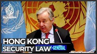 UN Security Council divided over Hong Kong