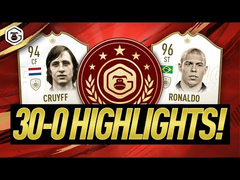 30-0 FUT CHAMPIONS HIGHLIGHTS!! FIFA 19 ULTIMATE TEAM