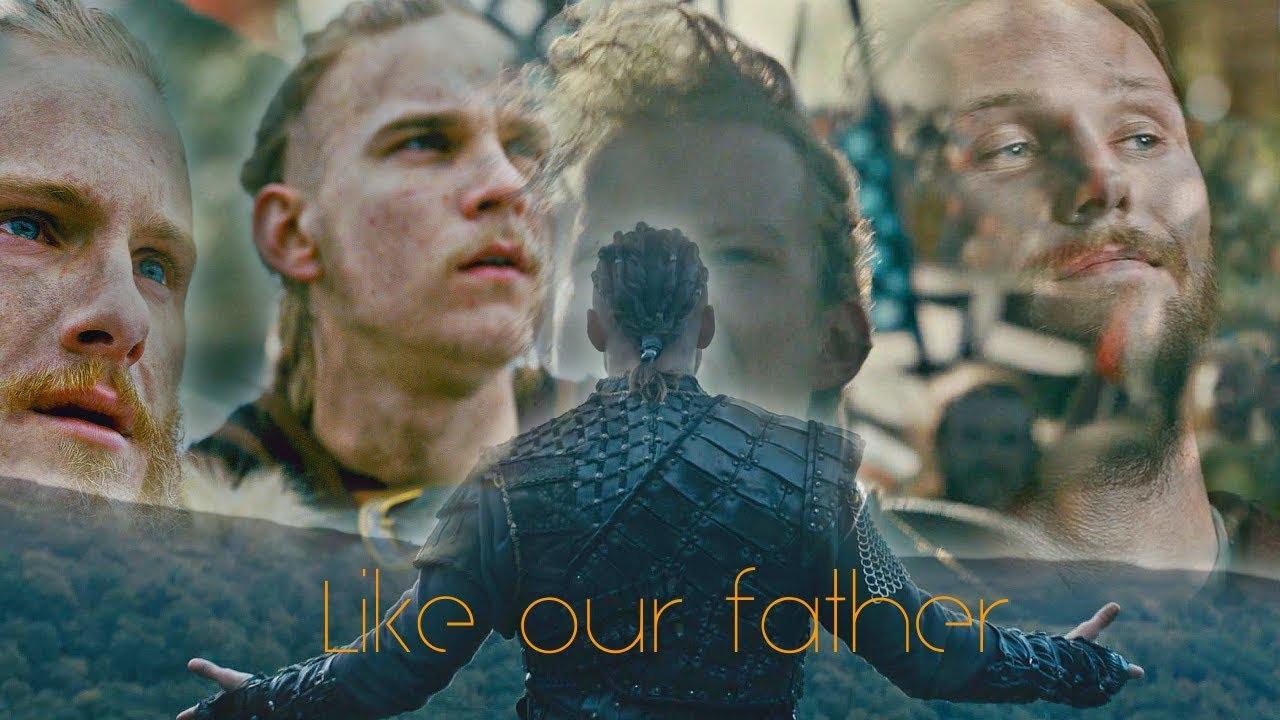 Vikings Ragnarsons Like Our Father Ivarbjornhvitserkubbesigurd