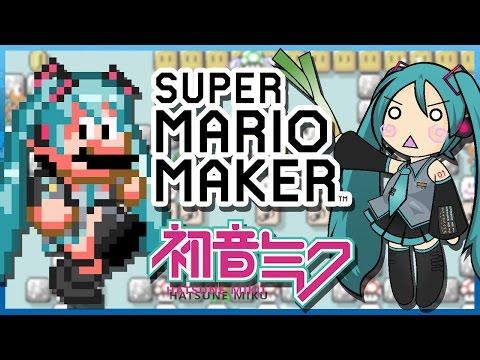 Hatsune Miku: Ievan Polkka in Super Mario Maker